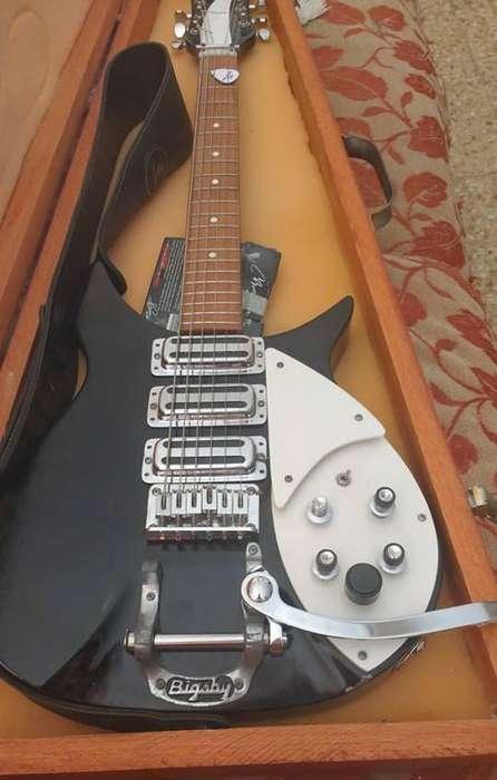 Guitarra Tipo RICKENBACKER