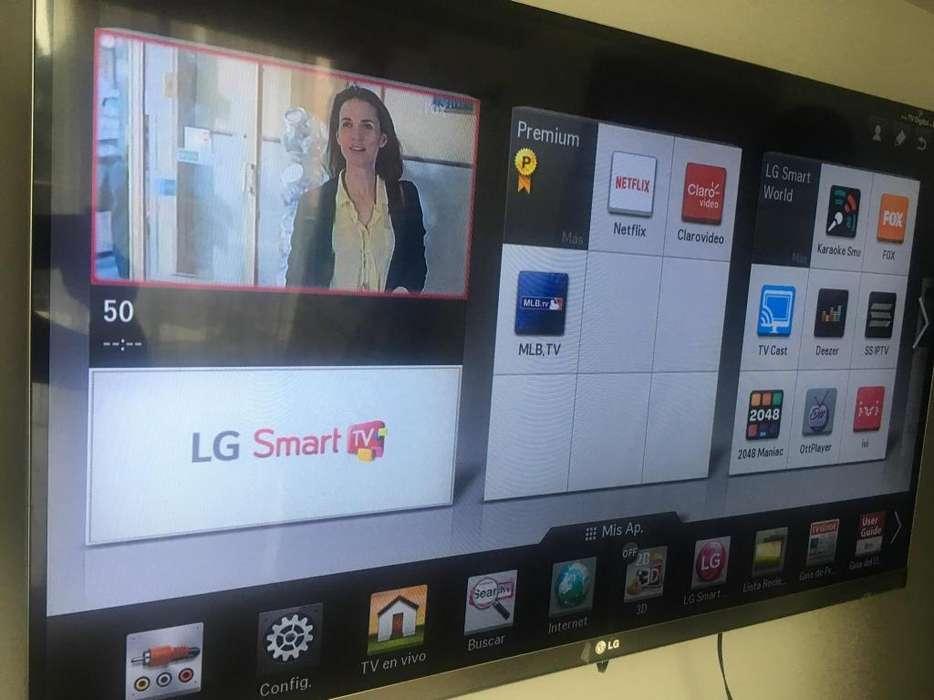 Tv Lg Led de 42 Pulgadas Smart Exelente wifi