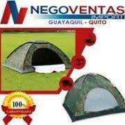 <strong>carpa</strong> CAMPING IMPERMEABLE PARA 4 PERSONAS