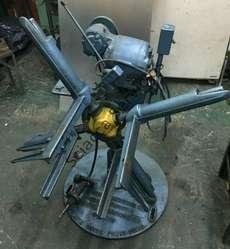 Desbobinador motorizado LITTEL 1200kgs--300mm ancho--perfecto estado