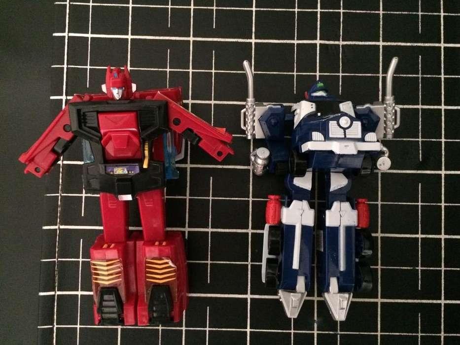 Autos Robots Transformers LOS 2 X ESE PRECIO