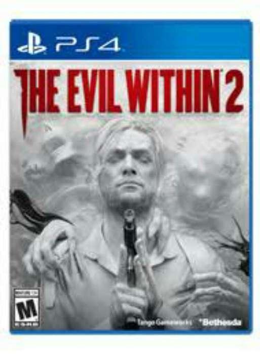 Juego Ps4 The Evil Within 2 Nuevo Y Sellado!!