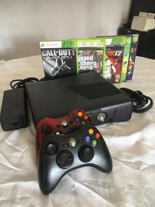 Líquido Xbox 360 slim en perfecto estado!