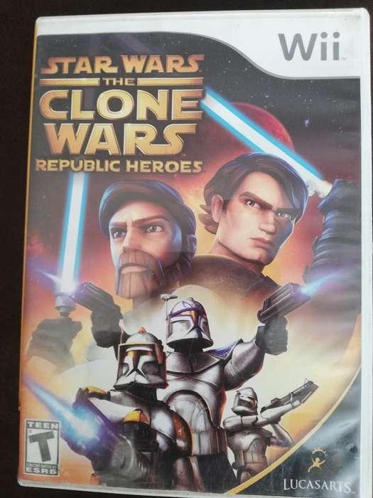 Juego Wii Original The Clone Wars