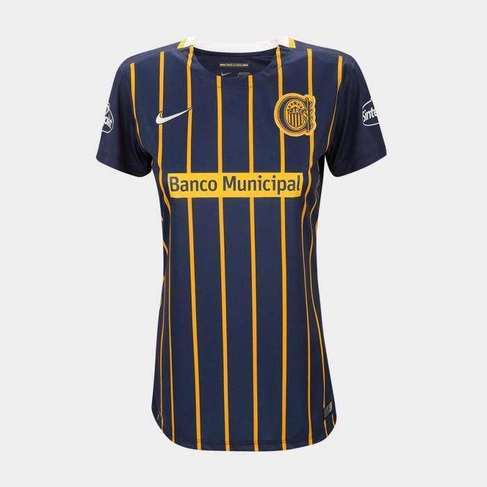 Camiseta Nike Rosario Central Oficial Femenina 2016 Mujer