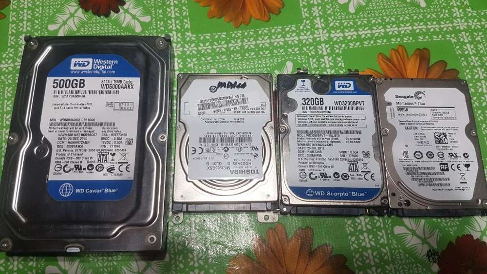 Discos Rigidos Hdd Notebook Y Pc