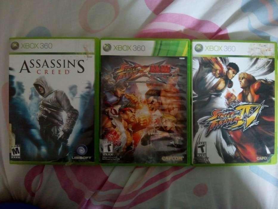 Se Venden Juegos de Xbox 360