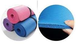 Colchoneta Yoga Mat 10mm Grueso Original A1 Sujetador 949330808 NOVEDADES EN EL FACEBOOK SOMOS: RISUTIMPORT
