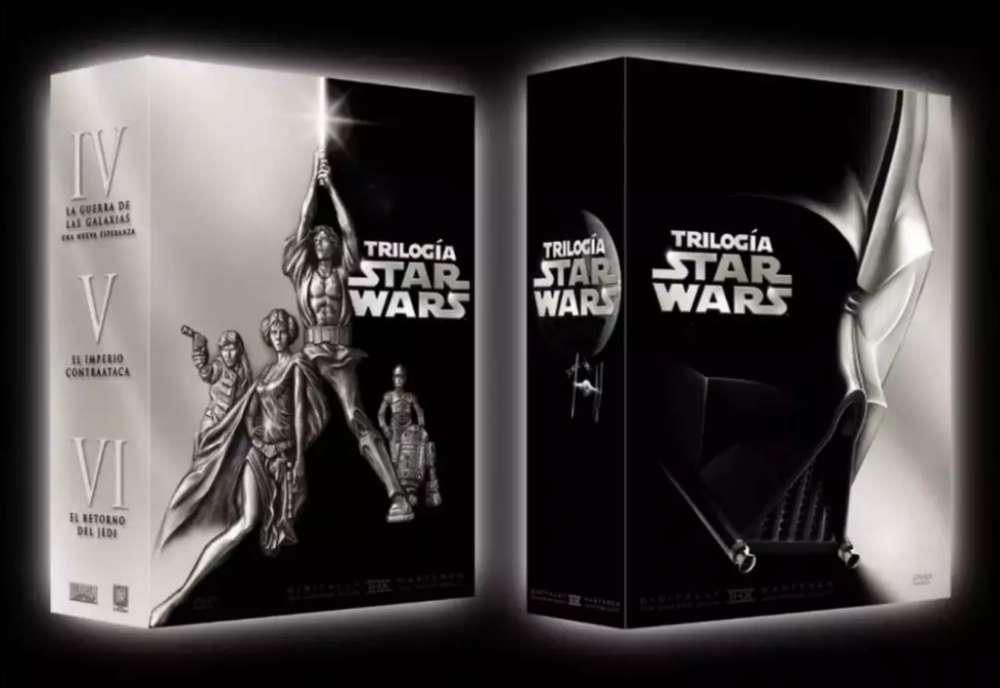DVD Box Set de la trilogia original de Star wars, episodio IV, V y VI.