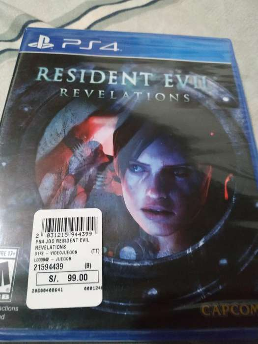 Juego Ps4 Resident Evil Revelations a 55
