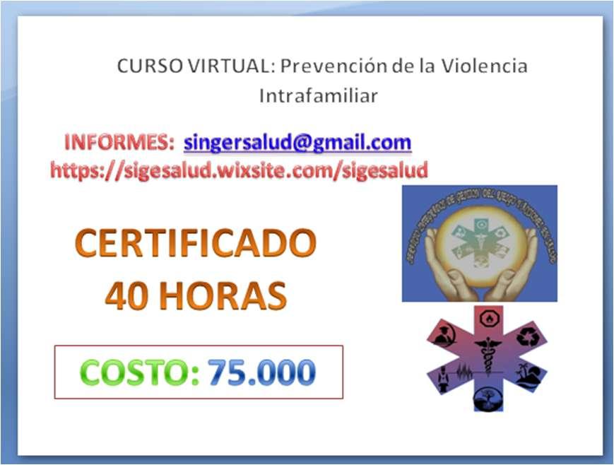 75.000 curso virtual Prevención de la Violencia Intrafamiliar