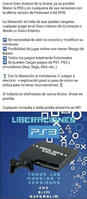 Liberaciones Ps3