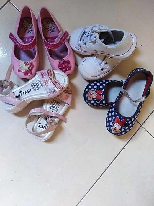 Vendo Zapatos para Niña Talla 23/25
