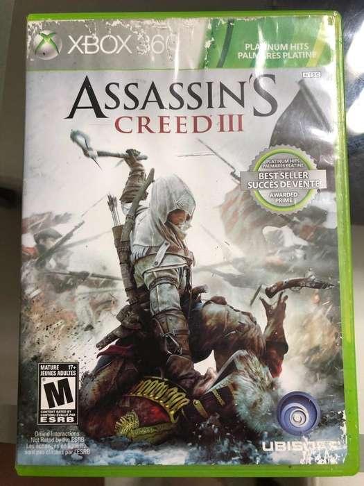 Assassins Creed III XBOX 360