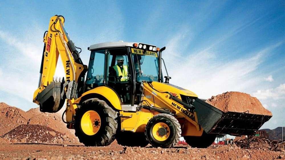 Tractor – Retroexcavadora New Holland B95B