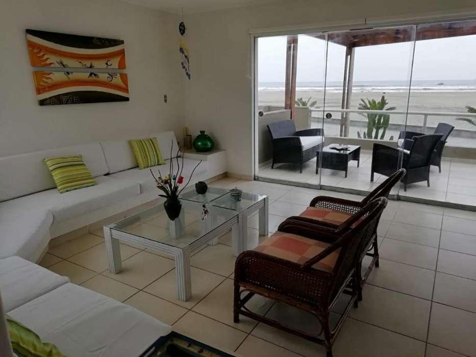 Casa Playa Las Palmeras Km 123 1ra Fila