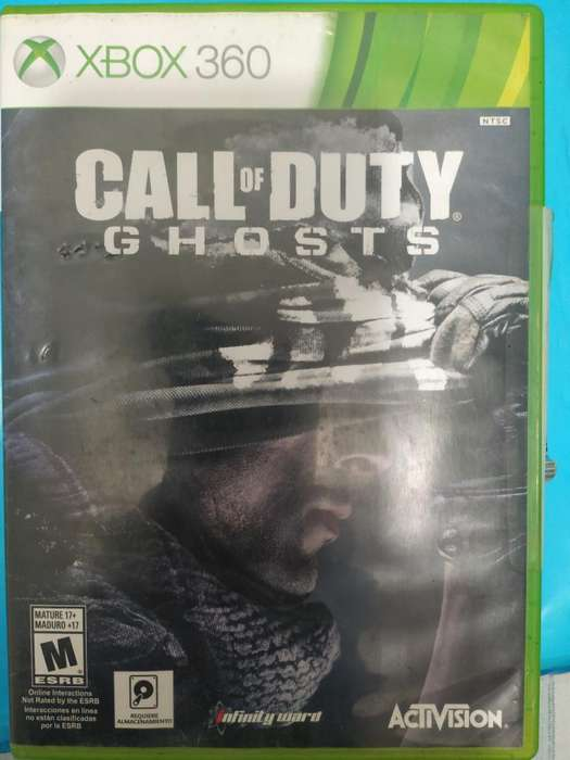 Call Of Duty Ghosts. Original Xbox 360