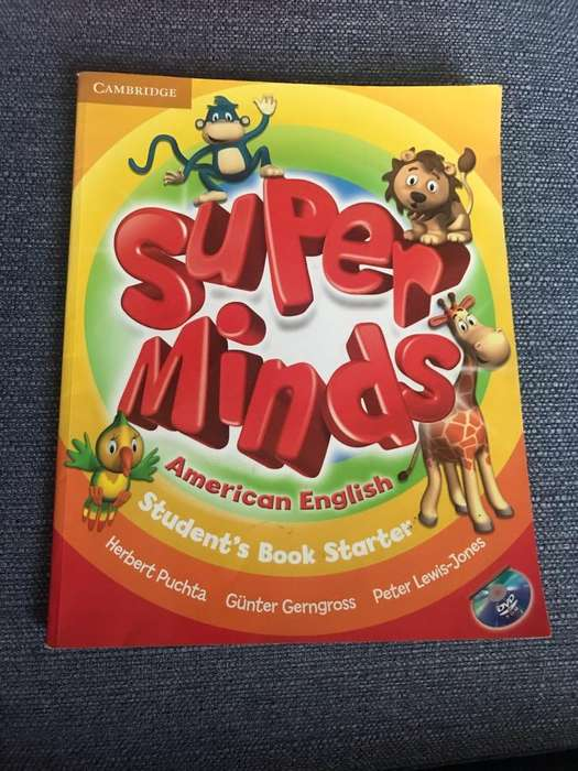 Libro Super Minds Student Book Starter