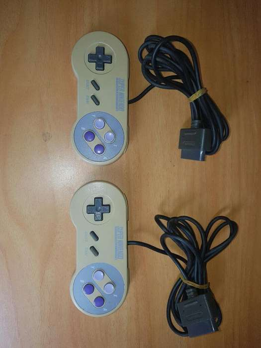 Controles Originales Super Nintendo