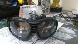 gafas  para motero chopper harley, cafe racer Bobster