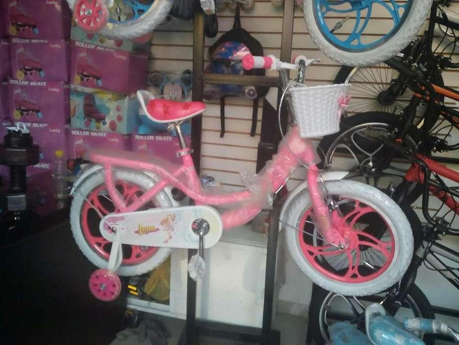 Bicicleta Par Niñas