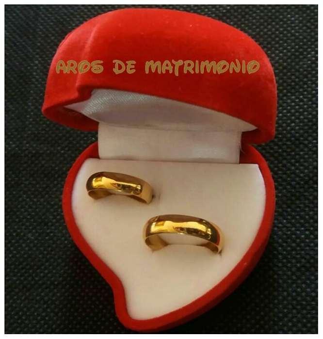 AROS DE MATRIMONIO EN OFERTA