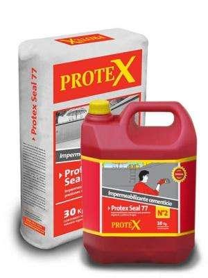 PROTEX SEAL 77 Gris Bicomponente Kit Pre-Dosificado x 40 kg