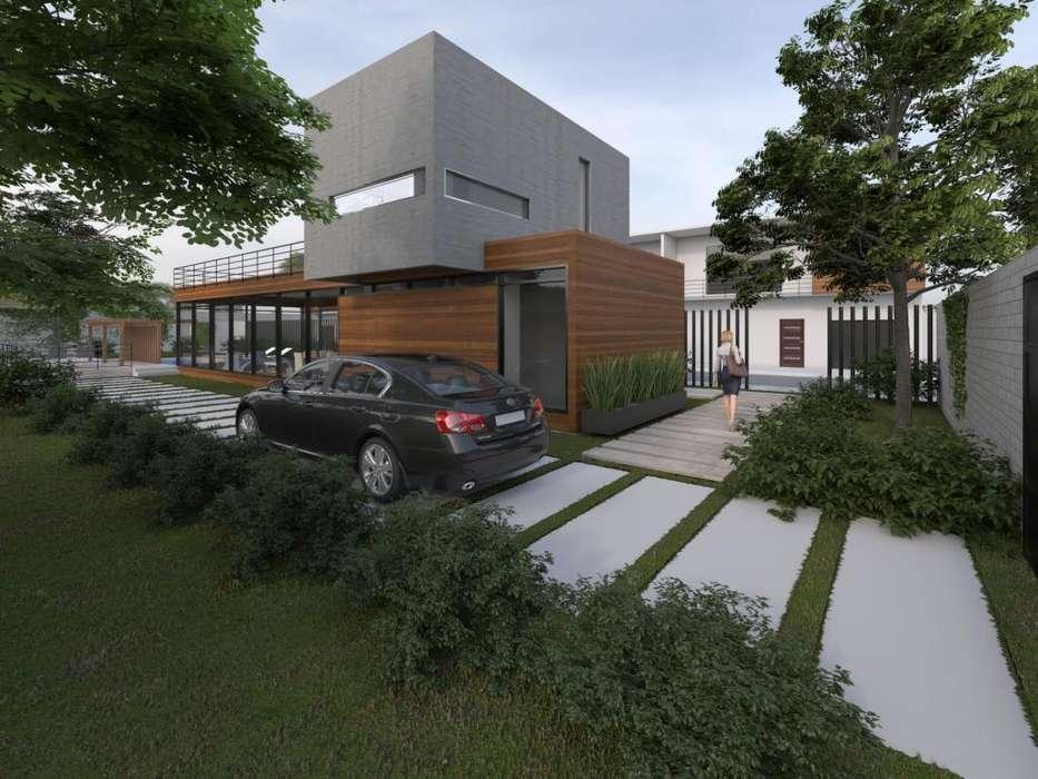 Elaboración de render arquitectónico