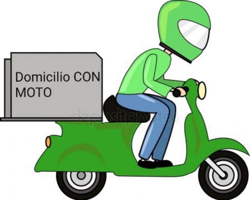 Domicilio con Moto
