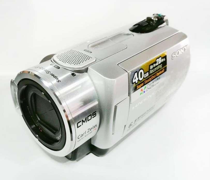 Videocamara Filmadora Sony Dcr-sr300 Accesorios Video 40gb