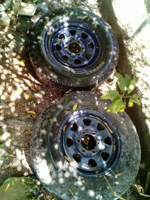 Vendo Rines <strong>4x4</strong> en Perfecto Estado