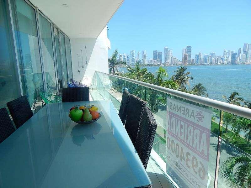 <strong>apartamento</strong> En Arriendo En Cartagena Castillogrande Cod. ABARE80484