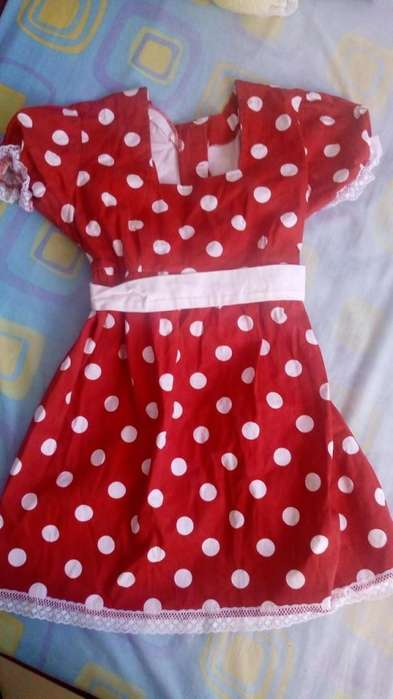 Vestido Minnie disfraz