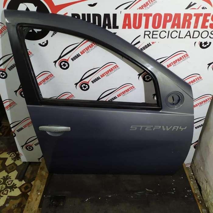Puerta Delantera Derecha Renault Sandero Stepway 14250 Oblea:03251789