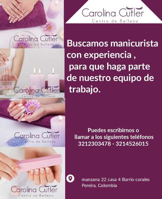 Se Requiere Manicurista Sector Corales