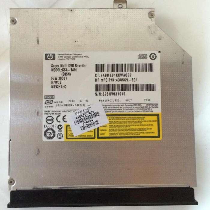 Unidad DVD para portátil