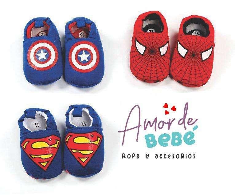 Zapatos Para Bebé Niño Y Niña Superhéroe