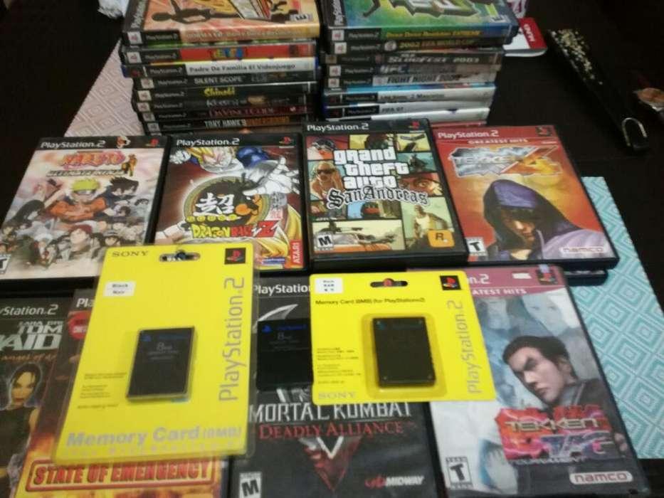 Juegos Ps2 Playstation Originales Oferta
