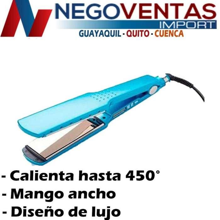 PLANCHA ALISADORA DE CABELLO NANO TITANIUM 450G PROFECIONAL