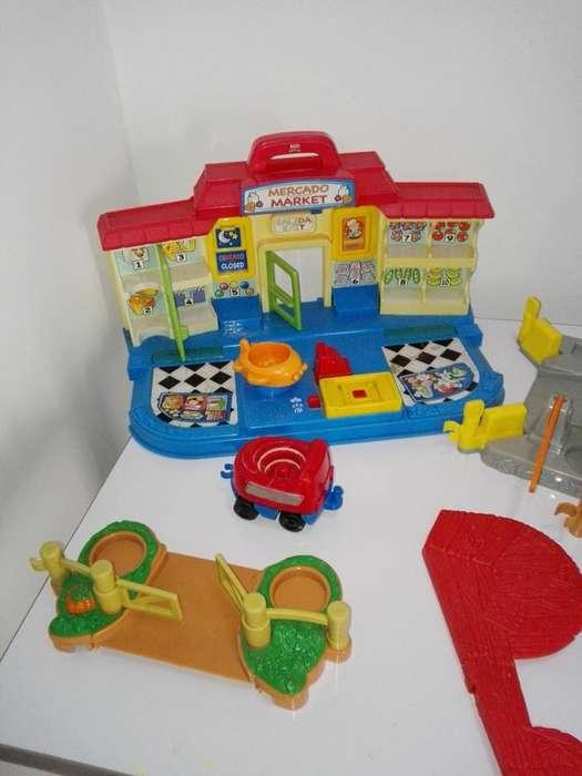 Supermercado de Little People Fisher Price