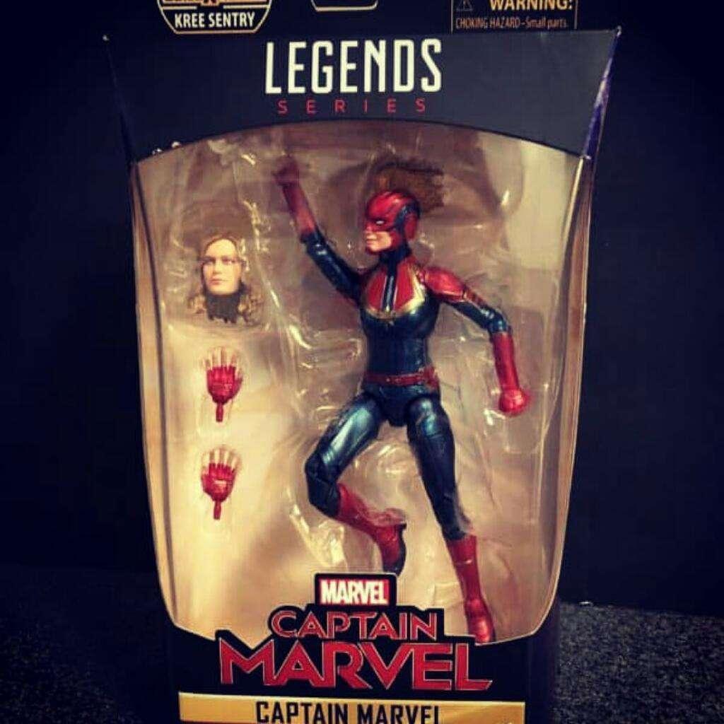 Capitana Marvel Serie Legends