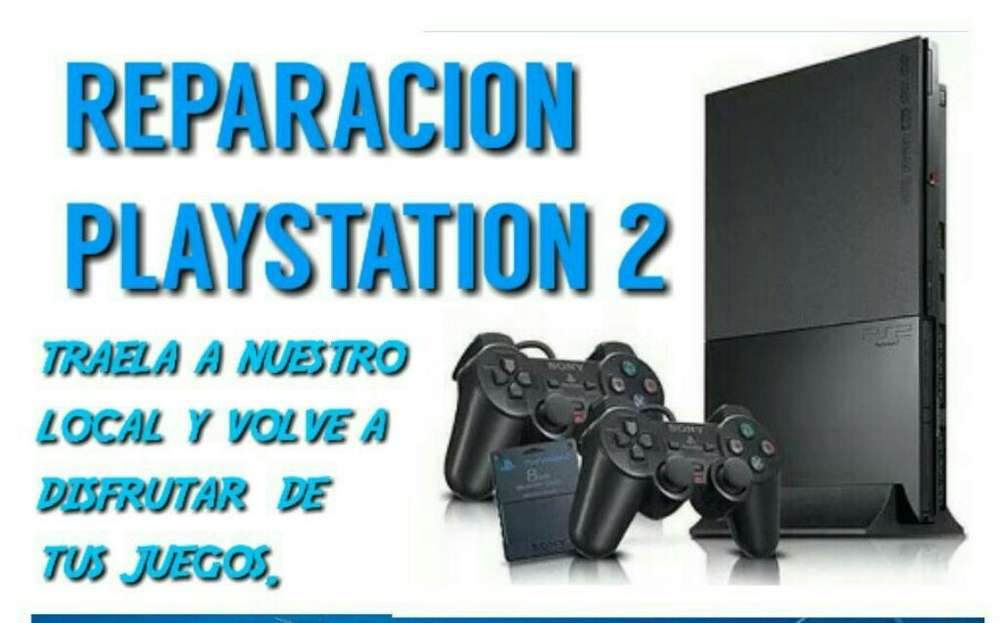 Reparo Play 2 Station Ps2