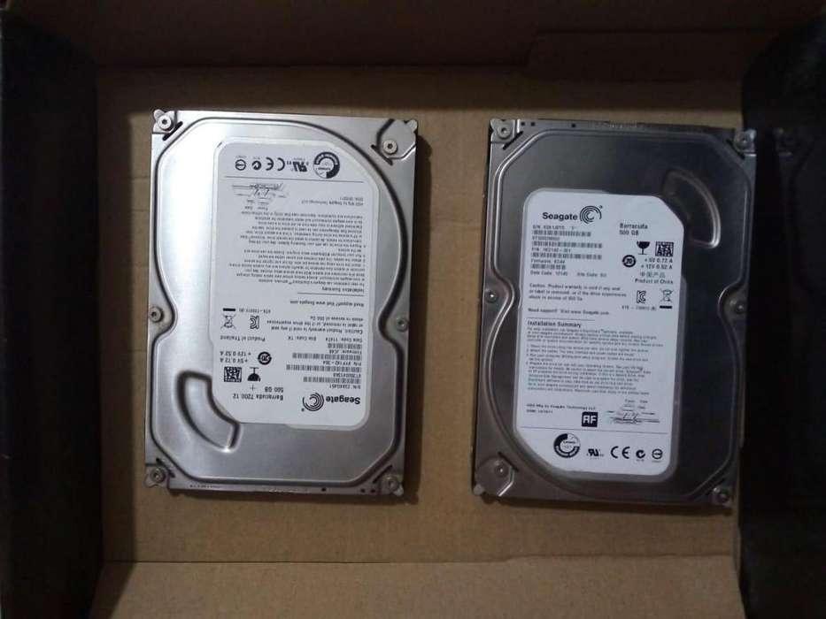 Disco duro 500 gb Seagate en barracuda