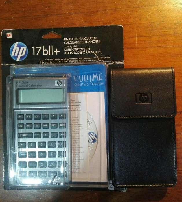 Oportunidad calculadora financiera HP17 bll