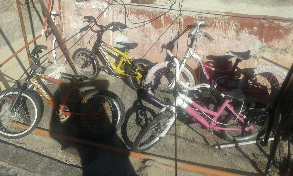 Vendo 4 Bicis para Arreglar C/u 1300