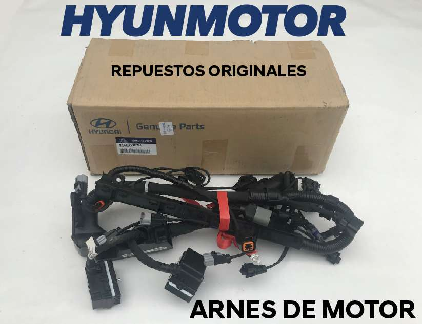 Arnes de motor para Hyundai Accent-i10-Elantra-Tucson