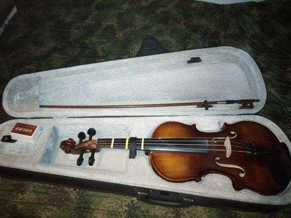 violín en perfecto estado.