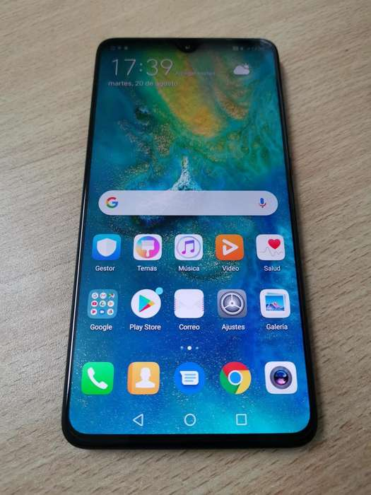 VENDO Huawei Mate 20 128GB LIBRE IMPECABLE