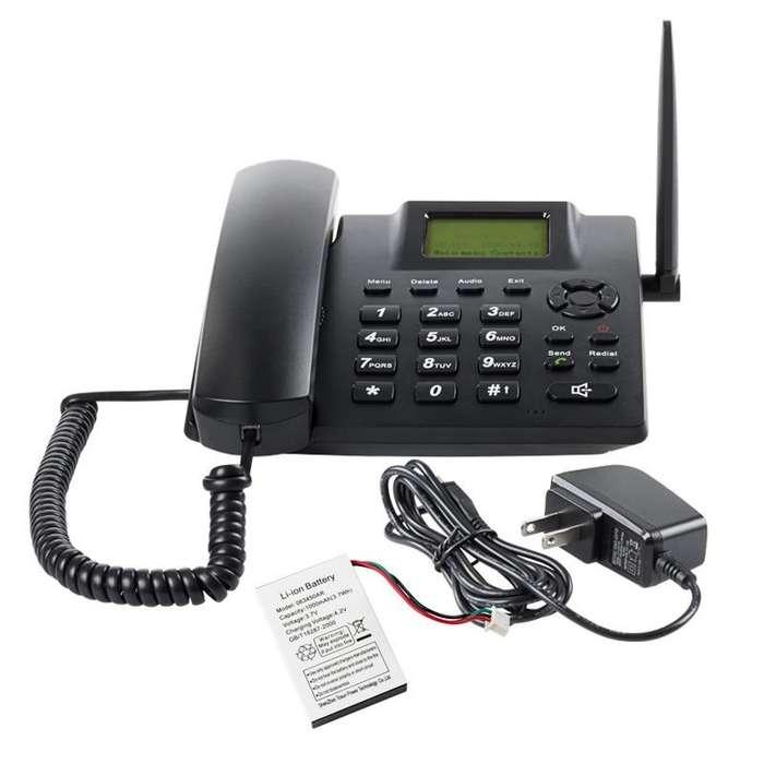 Teléfono Gsm Celular Fijo Bandas Abiertas