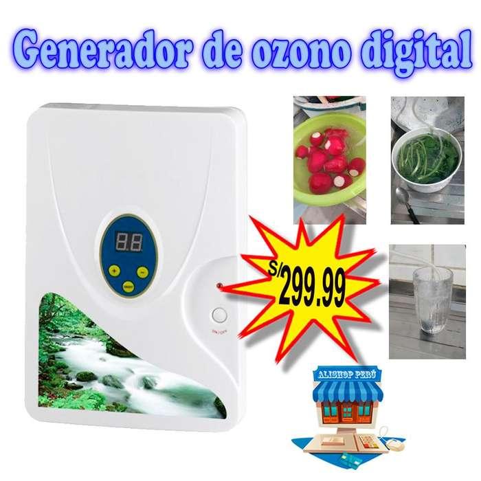 Generador de ozono digital